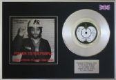 x   JOHN LENNON - Platinum Disc and cover  - POWER TO THE PEOPLE